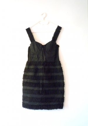 H&M Bustier Dress black