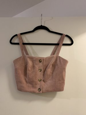 Bustier Top rose-gold-coloured-pink