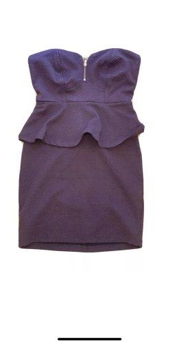 2b bebe Vestido bustier violeta amarronado