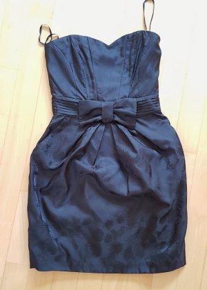 H&M Sukienka gorsetowa czarny