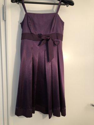 Weise Robe bustier violet foncé
