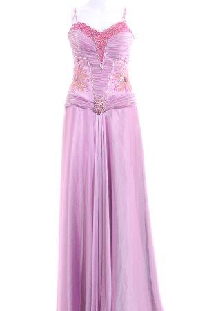 Vestido bustier rosa elegante