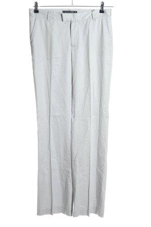 Butch Woman Pantalón de lana gris claro look casual