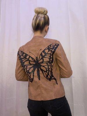 Butterfly - Lederjacke