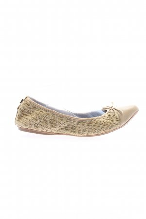 Butterfly twists Foldable Ballet Flats cream casual look