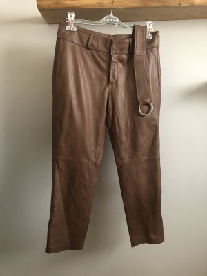 Heine Leather Trousers brown leather