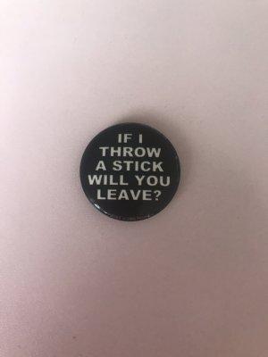 Bottone nero-bianco