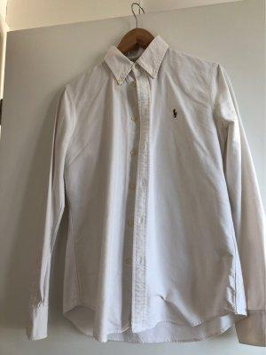 Polo Ralph Lauren Camicia a maniche lunghe bianco Cotone