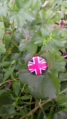 Button Union Jack