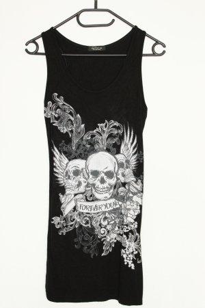 Buzy Mini-Kleid Totenkopf Muster