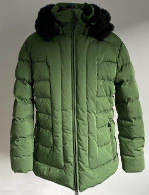 Wellensteyn Kurtka zimowa zielony-czarny Poliester