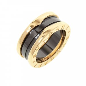 Bulgari Ring pink real gold
