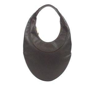 Bulgari Hobos brown leather