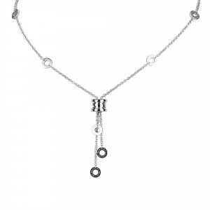 Bulgari Necklace silver-colored real gold