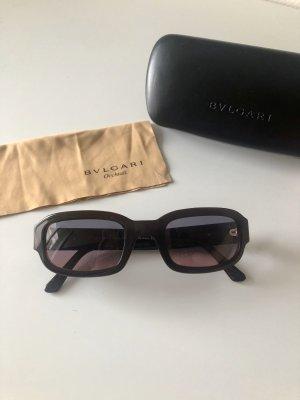 Bvlgari Okulary czarny-ciemnoczerwony