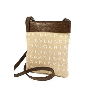Bvlgari Canvas Shoulder Bag