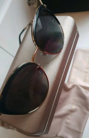 Bvlgari Butterfly Glasses black-gold-colored