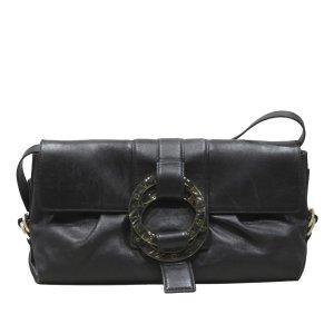 Bvlgari Chandra Leather Crossbody Bag