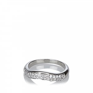 Bvlgari Corona Diamond Curved Ring