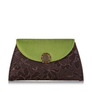 Bvlgari Cotton Clutch Bag