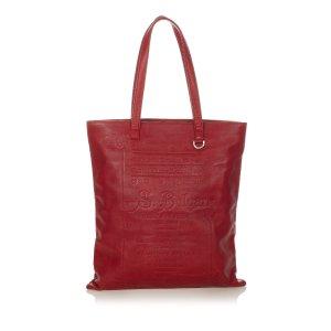 Bvlgari Elettra-Collezione 1910 Leather Tote Bag