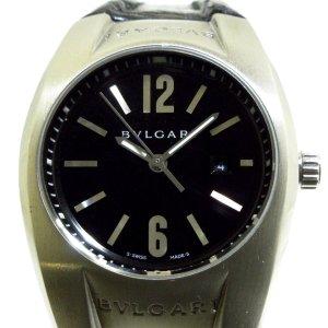 Bulgari Reloj color plata acero inoxidable