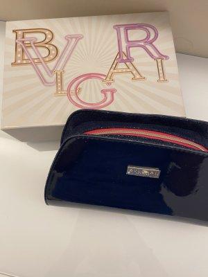 Bvlgari Bolso tipo pochette rosa-azul oscuro