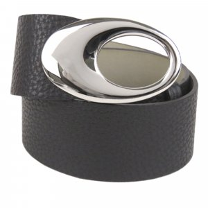Bulgari Belt black leather