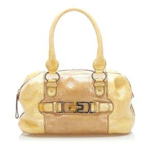 Bulgari Handbag brown leather