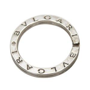 Bulgari Key Chain silver-colored real silver