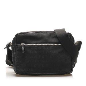 Bulgari Crossbody bag black