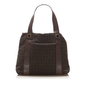 Bulgari Handbag dark green