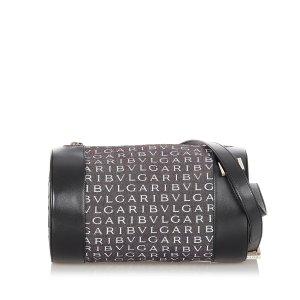 Bvlgari Logomania Denim Crossbody Bag