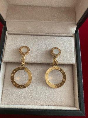 Bvlgari Boucles d'oreille en or doré or