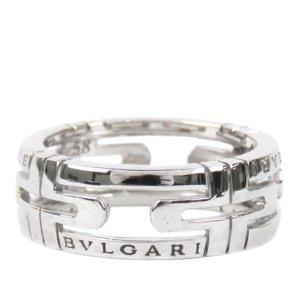 Bulgari Anello argento Oro