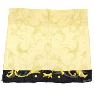 Bvlgari Écharpe en tricot beige soie