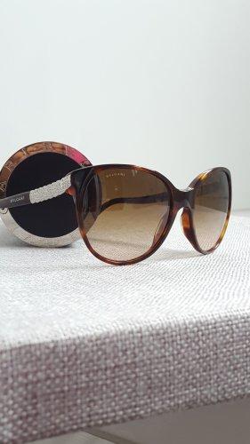 Bvlgari Okulary motylki cognac-jasnoszary Włókno octanowe