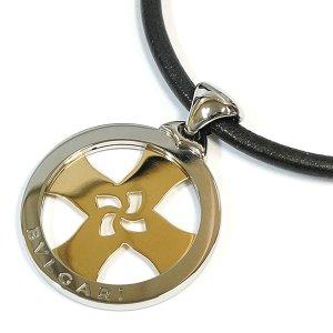 Bvlgari Tondo Cross Pendant Necklace