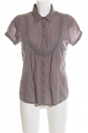 BWNY Jeans Short Sleeved Blouse brown casual look