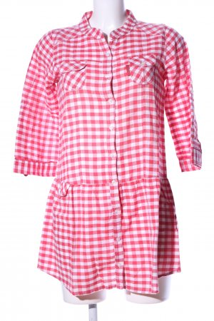 BWNY Jeans Long Blouse red-white check pattern casual look
