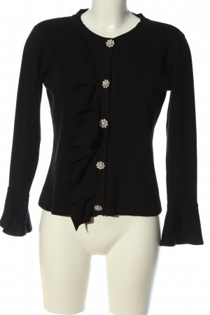 by clara Paris Knitted Cardigan black casual look