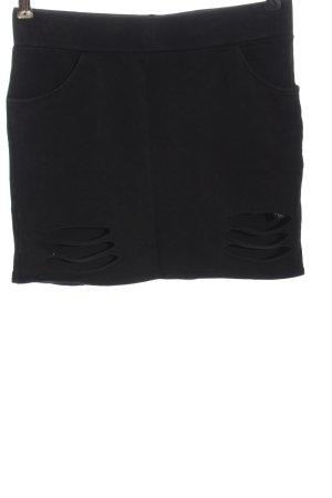 by EMP Spódnica mini czarny W stylu casual