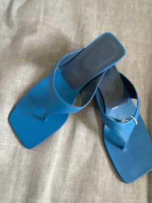 By Far Toe-Post sandals blue-turquoise