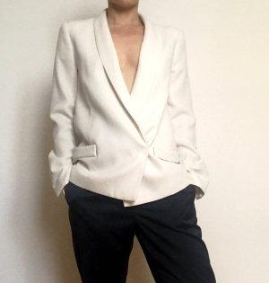 by Malene Birger Unisex Blazer white-natural white polyester