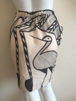 by Malene Birger Skirt black-cream