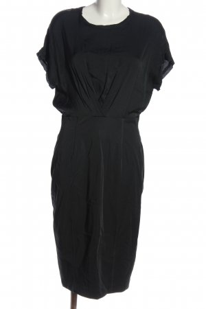 by Malene Birger Kurzarmkleid schwarz Casual-Look