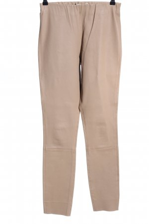 by Malene Birger Lederhose creme Casual-Look