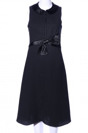 by Malene Birger Midikleid schwarz Business-Look