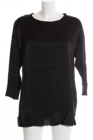 by Malene Birger Oversized Shirt schwarz Casual-Look