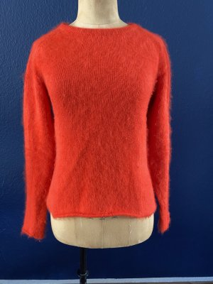 by Malene Birger Pull ras du cou rouge